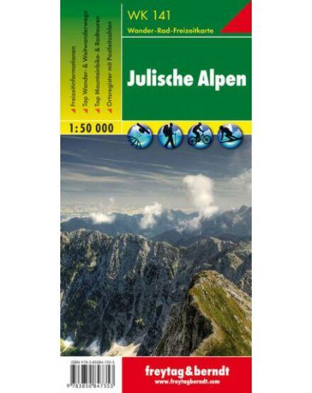 Cartographia  - WK141 Júliai-Alpok turistatérkép