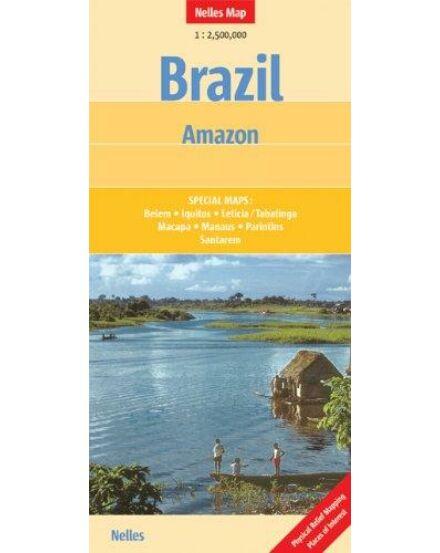 Cartographia  - Brazília: Amazonas térkép