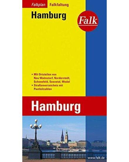 Cartographia  - Hamburg várostérkép (Falkfaltung)