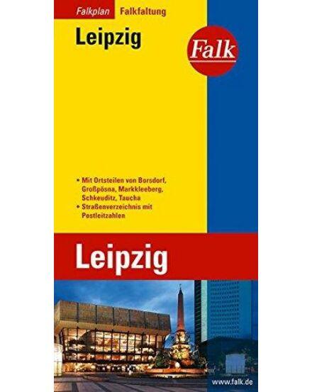 Cartographia  - Lipcse várostérkép (Falkfaltung)