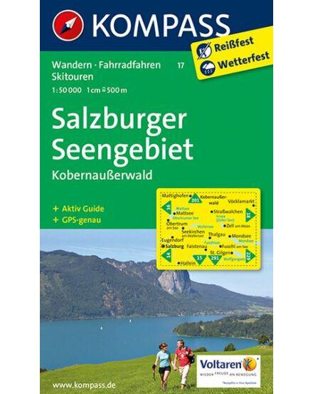 Cartographia  - Salzburger Seengebiet - Kobernaußerwald