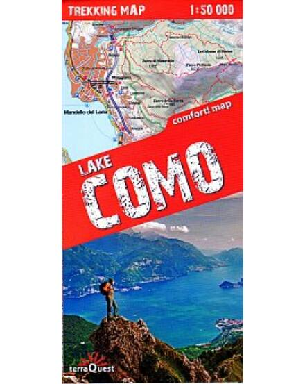 Cartographia  - Comói-tó trekking térkép
