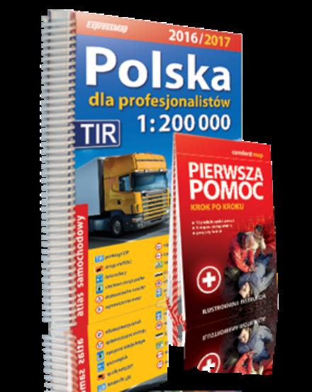 Cartographia  - Lengyelország kamionos atlasz
