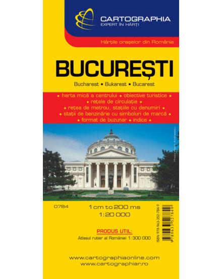 Cartographia  - Bukarest City várostérkép
