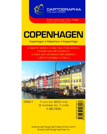 Cartographia  - Koppenhága várostérkép