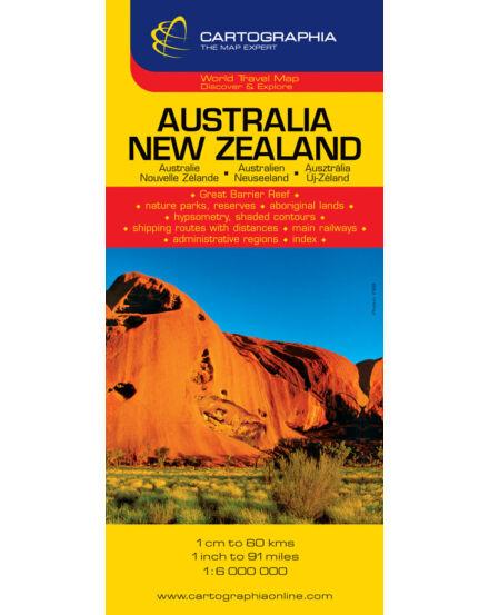 Cartographia  - Ausztrália/Új-Zéland térkép