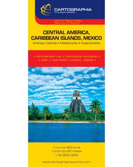 Cartographia  - Közép-Amerika (Mexikó és a Karib-szigetek) térkép