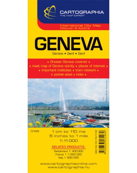 Cartographia  - Genf várostérkép