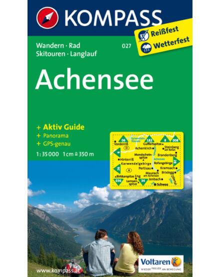Cartographia  - KOMPASS Wanderkarten: Achensee turistatérkép