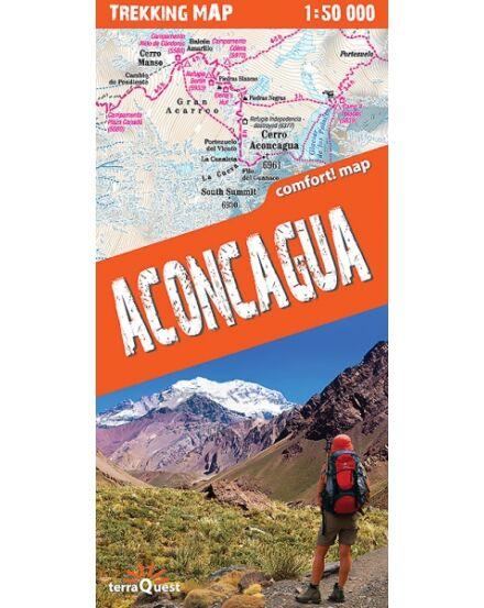 Cartographia  - Aconcagua trekking térkép