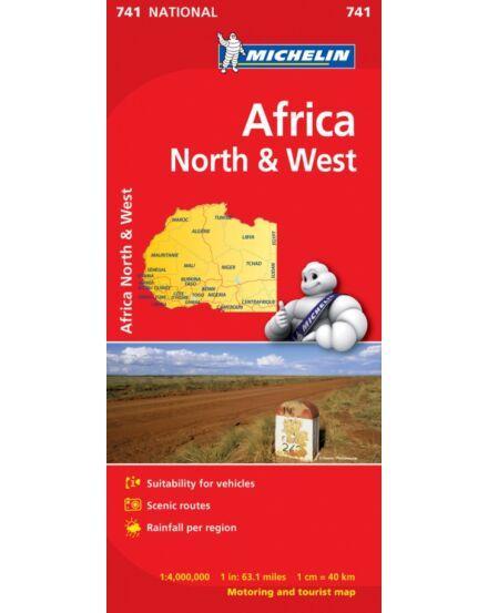 Cartographia  - Afrika Észak Nyugat térkép