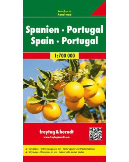 Cartographia  - Spanyolország-Portugália autótérkép