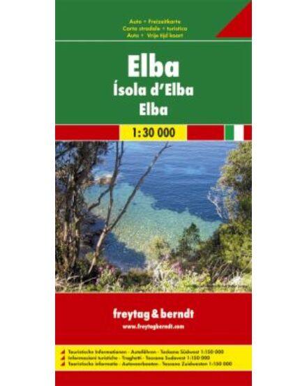 Cartographia  - Elba - Délnyugat-Toszkána térkép
