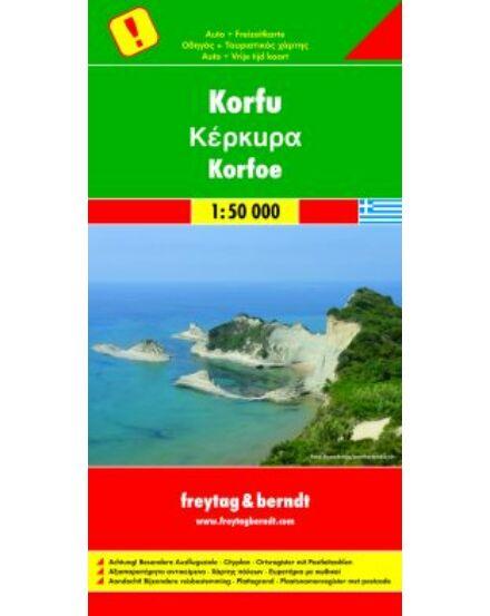 Cartographia  - Korfu térkép