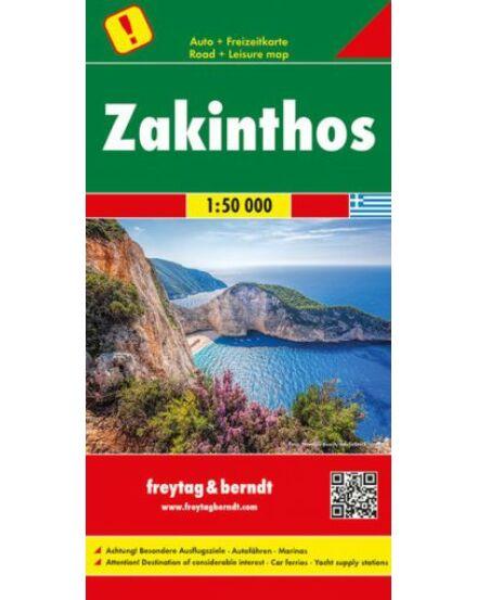 Cartographia  - Zakinthos térkép 1:50 000