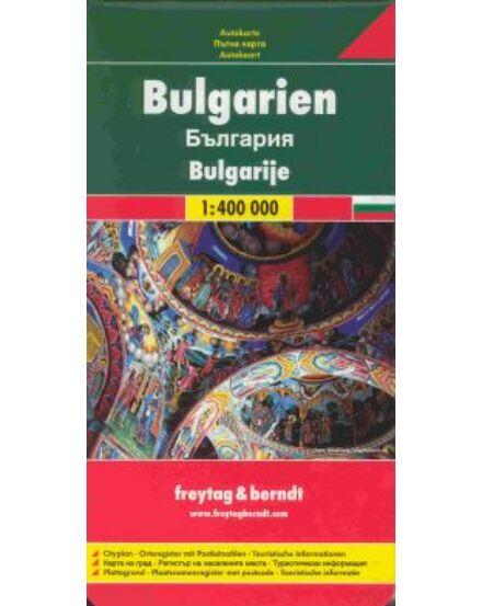 Cartographia  - Bulgária autótérkép