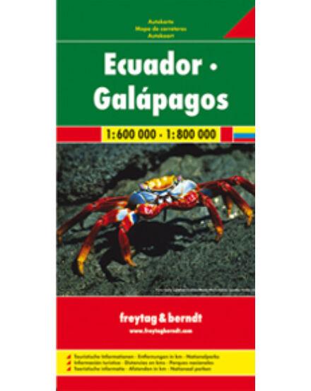 Cartographia  - Ecuador - Galapagos-szigetek térkép