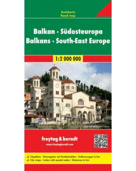 Cartographia  - Balkán-Délkelet-Európa térkép