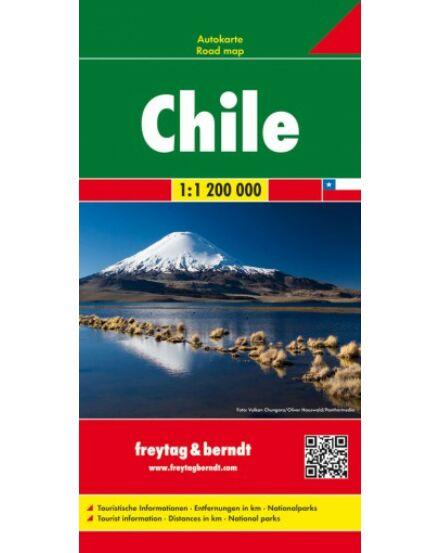 Cartographia  - Chile térkép
