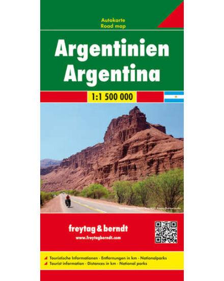 Cartographia  - Argentína térkép
