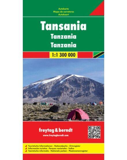 Cartographia  - Tanzánia térkép