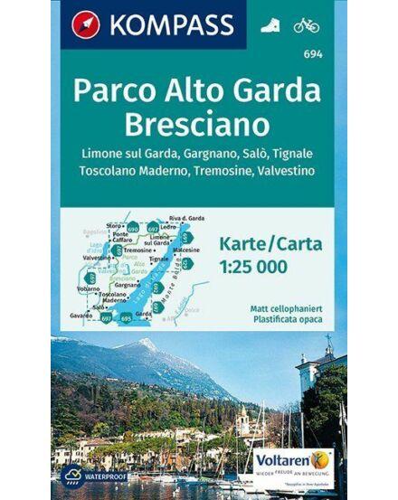 Cartographia  - K 694 Parco Alto Garda Bresciano turistatérkép