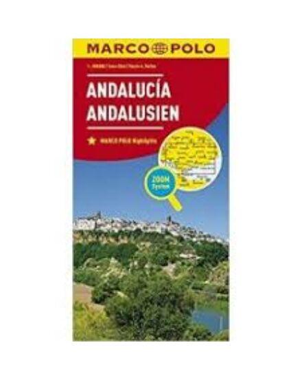 Cartographia  - Andalúzia térkép