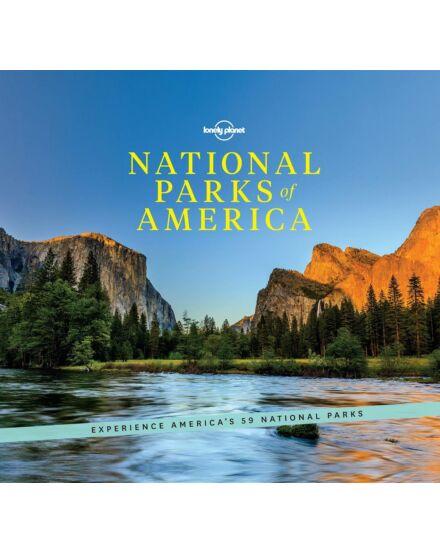 Cartographia  - Amerika Nemzeti Parkjai útikönyv Lonely Planet