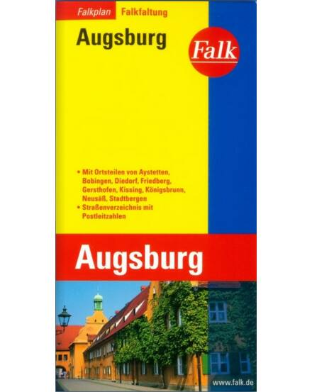 Cartographia  - Augsburg térkép (Falkfaltung)