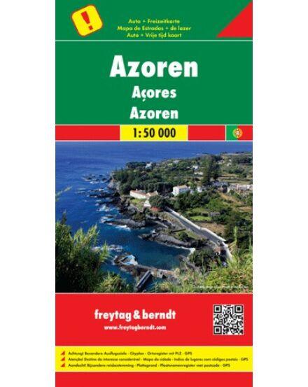 Cartographia  - Azori-szigetek térkép