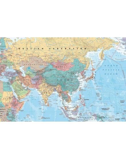 Cartographia  - Ázsia és a Közel-Kelet politikai GN0761 -keretes