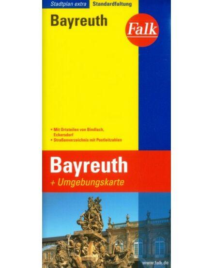 Cartographia  - Bayreuth és környéke extra várostérkép
