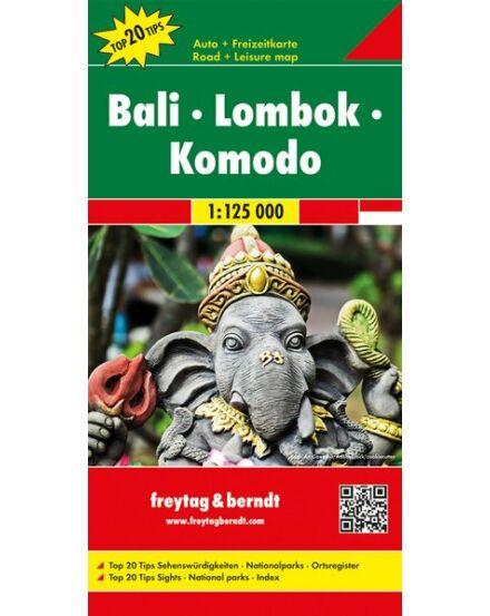 Cartographia  - Bali, Lombok, Komodo térkép
