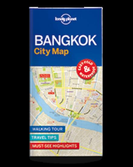 Cartographia  - Bangkok laminált térkép Lonely Planet
