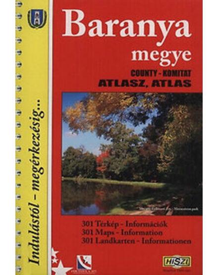 Cartographia  - Baranya megye atlasz