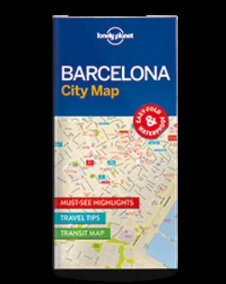 Cartographia  - Barcelona laminált térkép Lonely Planet