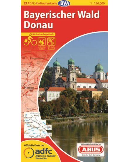 Cartographia  - Bajor-erdő, Duna - németországi kerékpáros túrat