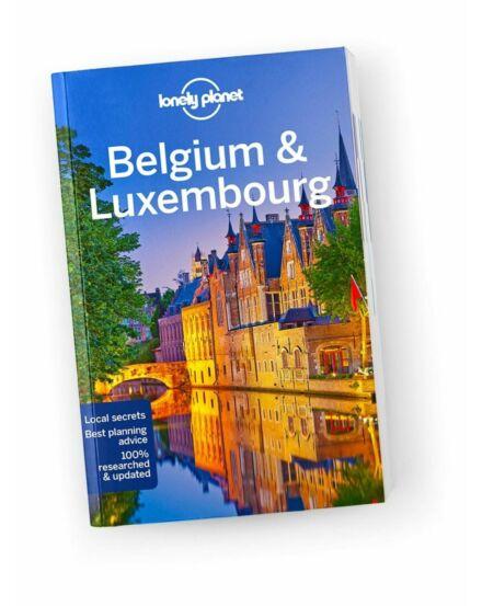 Cartographia  - Belgium , Luxemburg útikönyv (angol) Lonely Planet