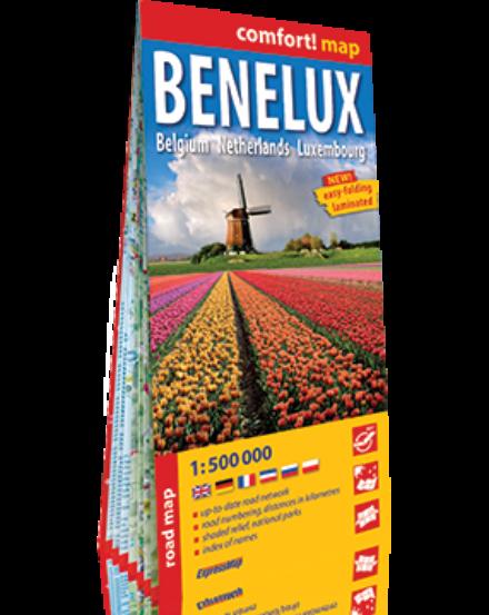 Cartographia  - Benelux államok Comfort térkép