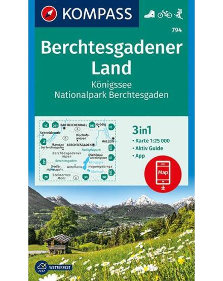 Cartographia  - K 794 Berchtesgadener Land turistatérkép