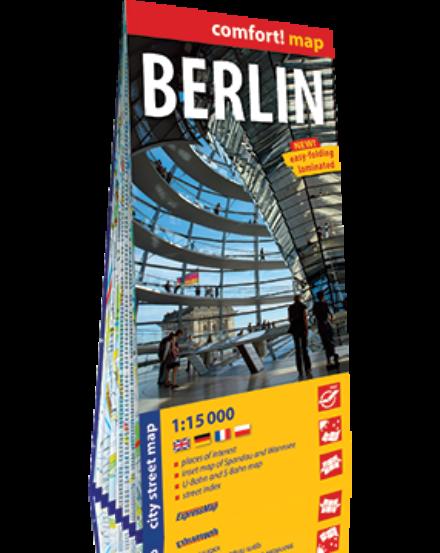 Cartographia  - Berlin várostérkép (laminált)