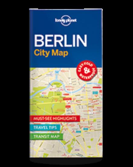 Cartographia  - Berlin laminált térkép Lonely Planet