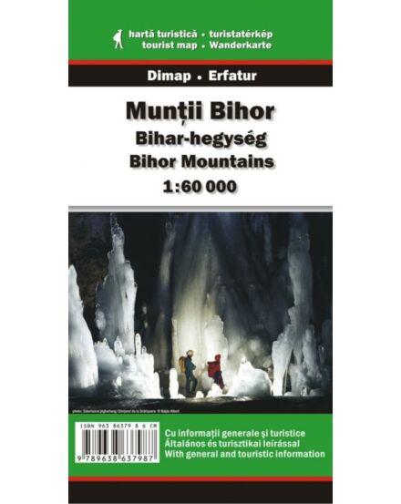 Cartographia  - Bihar-hegység turistatérkép