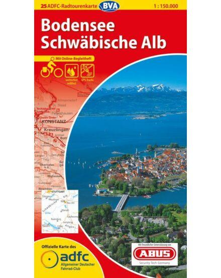 Cartographia  - Bodeni-tó / Sváb-Alpok - németországi kerékpáros túrat