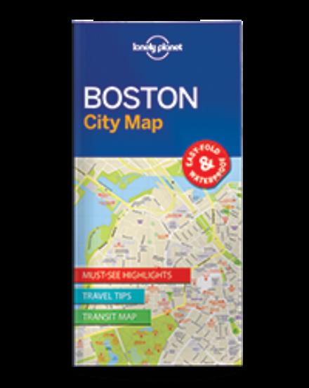 Cartographia  - Boston laminált térkép Lonely Planet