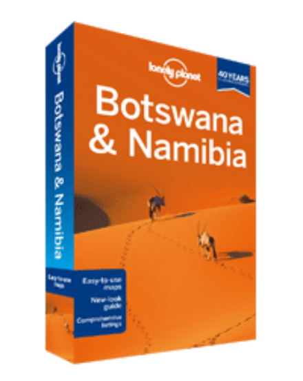 Botswana és Namíbia útikönyv (angol) Lonely Planet