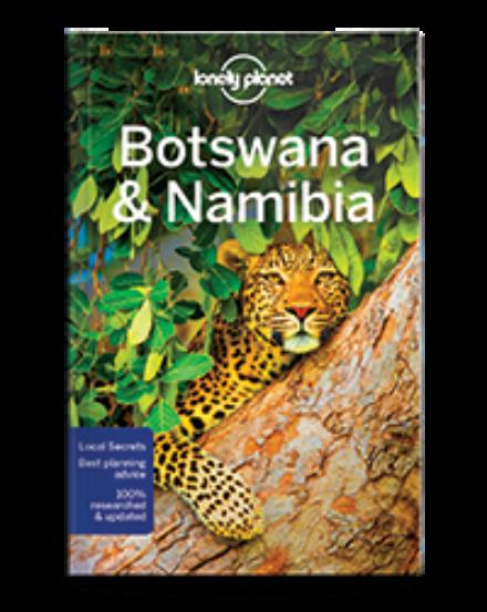 Cartographia  - Botswana, Namíbia útikönyv (angol)