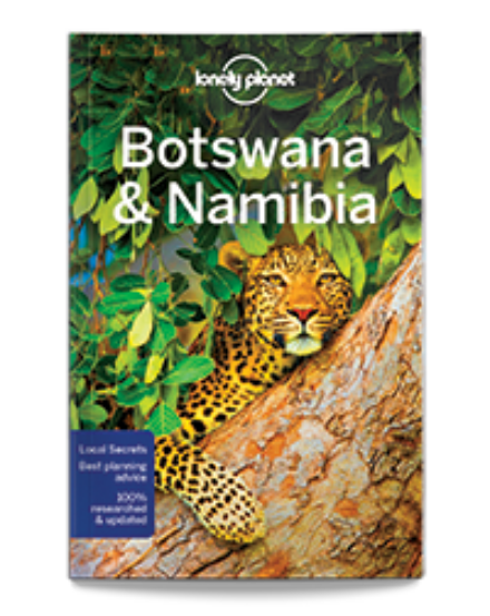Cartographia  - Botswana, Namíbia útikönyv (angol) Lonely Planet