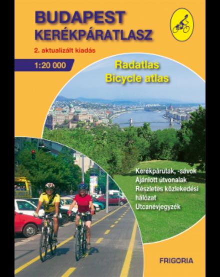 Cartographia  - Budapest kerékpáratlasz
