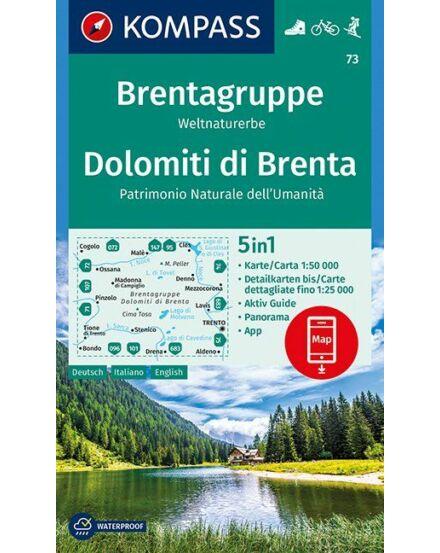 Cartographia  - Brenta csoport turistatérkép